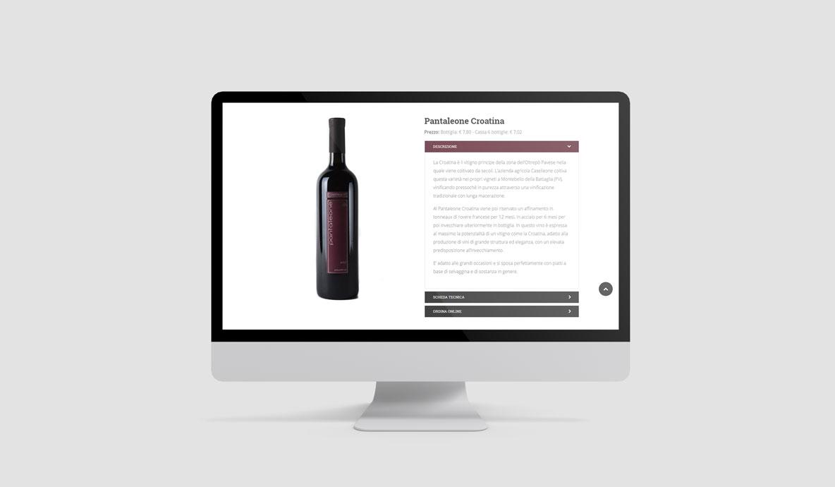 Progettazione web - Prodotti Caselleone.com