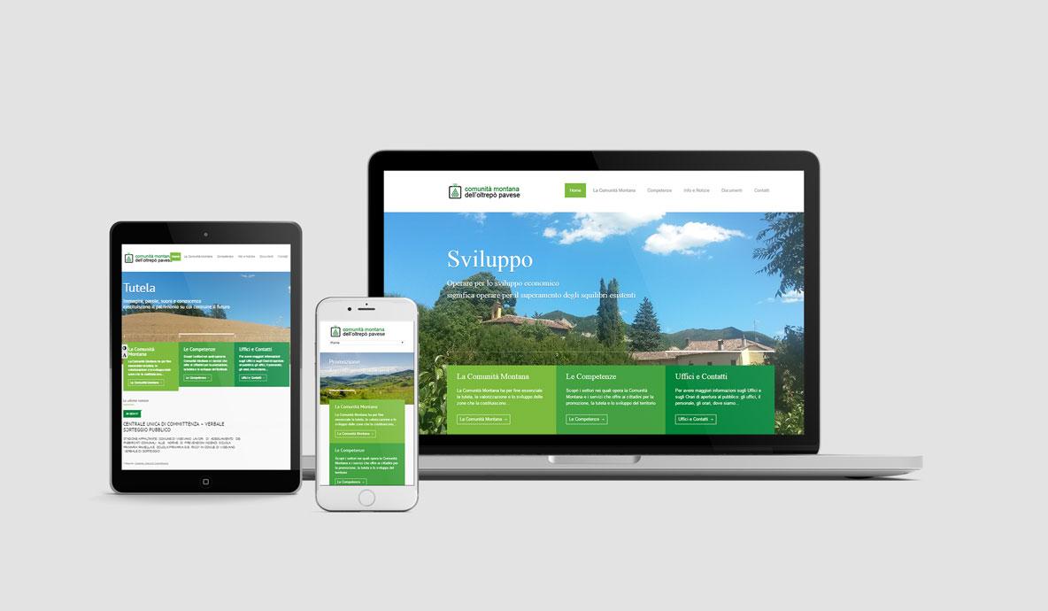 Realizzazione siti internet - Cmop - Homepage multidevice