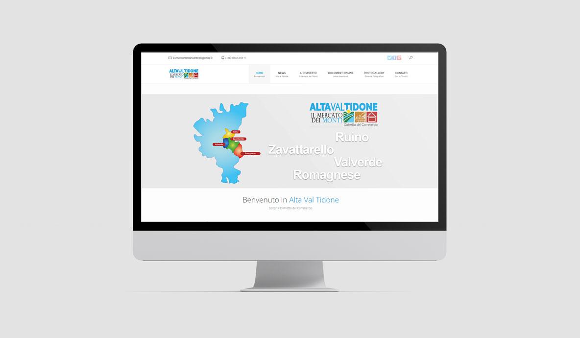 Realizzazione siti internet - Alta Val Tidone - Home