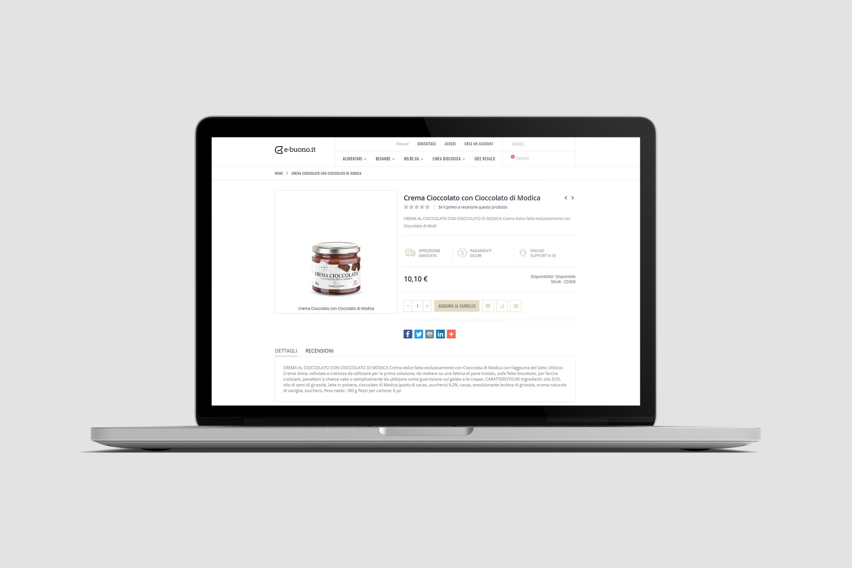 Realizzazione eCommerce - E-buono.it - Pagina prodotto